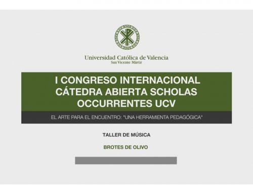 CATEDRA ABIERTA SCHOLAS OCCURRENTES UCV